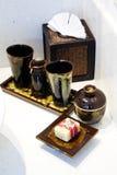 陶瓷器皿 图库摄影