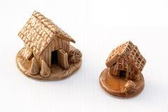 陶瓷客舱模型 免版税库存照片