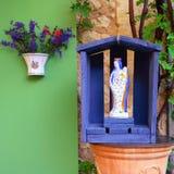 陶瓷小雕象 免版税图库摄影