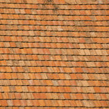 陶瓷屋顶盖瓦 库存照片