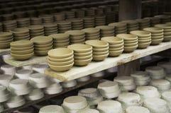 陶瓷工厂在泰国 免版税图库摄影
