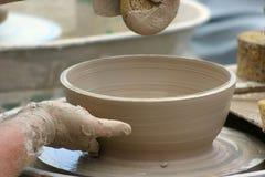 陶瓷工工作 库存照片