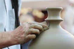 陶瓷工的现有量 图库摄影