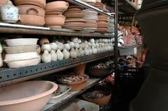 陶瓷工的围场 库存图片