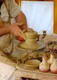陶瓷工 免版税库存照片