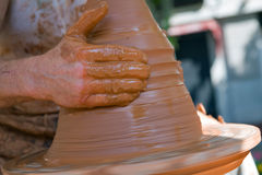 陶瓷工 图库摄影