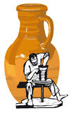 陶瓷工 免版税图库摄影