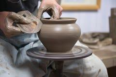 陶瓷工s轮子 免版税库存照片