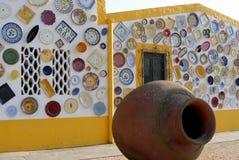陶瓷房子镀多种 库存照片