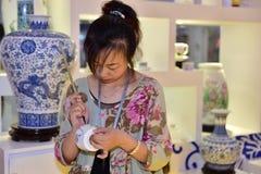 陶瓷技术 免版税库存图片