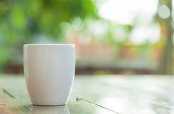 陶瓷杯子 免版税库存图片