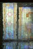 陶瓷楼层反映瓦片视窗 库存图片
