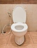 陶瓷洗手间白色 库存图片