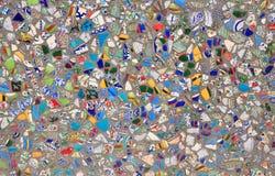 陶瓷混杂的人群 免版税库存照片
