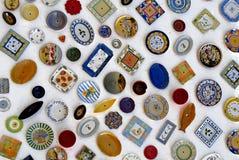 陶瓷牌照 库存图片