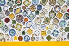 陶瓷牌照 免版税库存照片