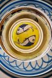陶瓷牌照 库存照片