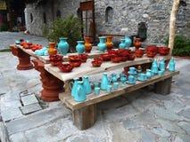 陶瓷物品瓦器 免版税库存照片