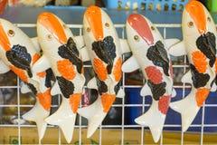 陶瓷玩偶手工产品 免版税库存图片