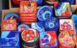 陶瓷瓦器,西班牙 库存图片