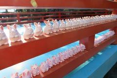 陶瓷的兔子 库存图片