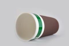 陶瓷的咖啡杯 免版税库存照片