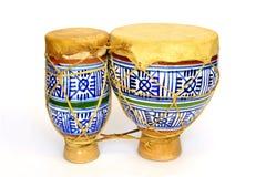 陶瓷的小鼓 图库摄影