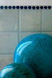 陶瓷的球 免版税库存照片