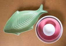 陶瓷的碗 免版税库存照片