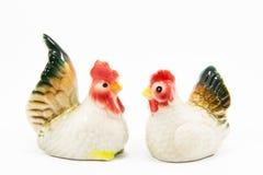 陶瓷的鸡 库存图片