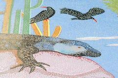 陶瓷砖样式和颜色 免版税库存照片