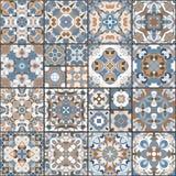 陶瓷砖的汇集 免版税库存照片