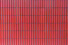 陶瓷红色瓦片 库存照片