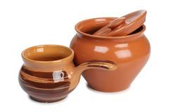 陶瓷罐二 免版税库存照片