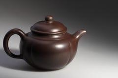 陶瓷罐茶 免版税库存图片
