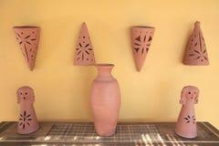 陶瓷花瓶 免版税库存照片