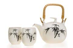 陶瓷茶壶 免版税库存图片