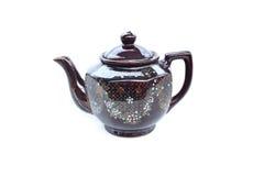 陶瓷茶罐 免版税库存照片