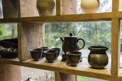 陶瓷茶 库存图片