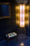 陶瓷蓝色锦砖 免版税图库摄影