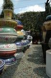 陶瓷陶瓷工的围场 免版税库存照片