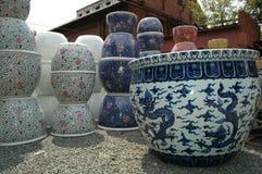 陶瓷陶瓷工的围场 图库摄影