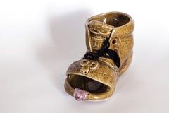 陶瓷鞋子 免版税库存图片