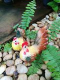 陶瓷鸡 免版税图库摄影