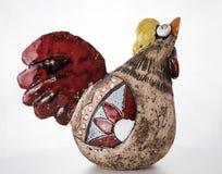 陶瓷鸡 免版税库存图片