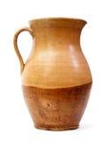 陶瓷黏土水罐老花瓶 免版税图库摄影