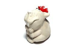 陶瓷鼠标 免版税库存照片
