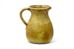 陶瓷黏土水罐老花瓶 免版税库存图片