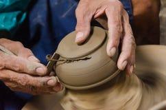 陶瓷从手工制造 免版税图库摄影