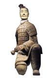 陶砖土地战士 库存照片